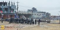Birgunj tense as police, protesters clash