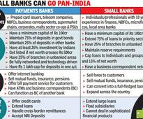 RBI eases norms for niche banks