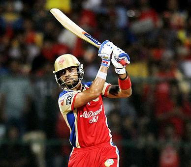 IPL: Kohli's blitz keeps RCB's play-off hopes alive