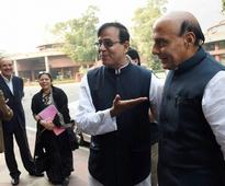 Intolerance issue a contrived anti-govt show, says Rajnath