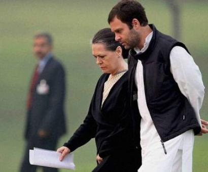 Sonia flays BJP for divisive ideology, but says decision on Rahul final