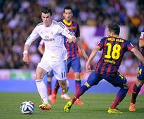 Gareth Bale leads Madrid 2-1 past Barcelona for Copa del Rey