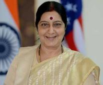 External Affairs Minister Sushma Swaraj to Visit Sri Lanka Ahead of Prime Minister Modi's Tour