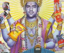 Case Against Dhoni for 'Posing As Lord Vishnu'