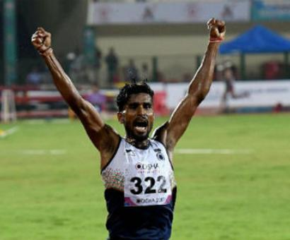 India's Lakshmanan fails to qualify for 5000m final but has no regrets...