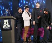 How has the year 2014 to Aamir Khan, Shah Rukh Khan & Salman Khan?
