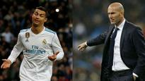 Cristiano Ronaldo deserves more respect, says Real Madrid coach Zinedine Zidane