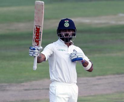 PHOTOS: Kohli wages lone battle for India on Day 2