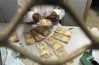 Rupee drops for second day; weak shares hurt