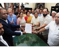 Drama and surprises on last day of filing of nominations for RS polls