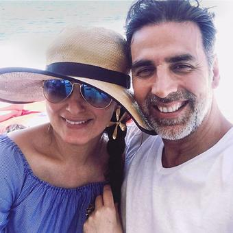 Akshay-Twinkle's fantastic France holiday