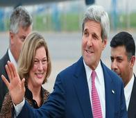 Kerry arrives in India visit to re-invigorate Indo-US economic relationship