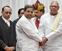 Rosaiah sworn in as Governor of Karnataka