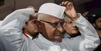 Anna Hazare to begin hunger strike for Jan Lokpal Bill today