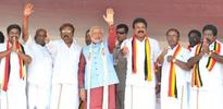 BJP-led front is a viable alternative to DMK, AIADMK: Modi