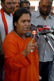 I will send jamaibabu to jail: Uma Bharti on Robert Vadra