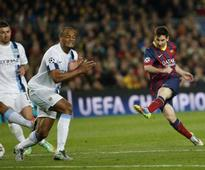 Messi guides Barca into Champs quarters