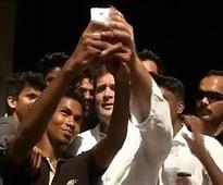 Now Rahul Gandhi poses for Selfie