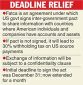 More time for US tax pact