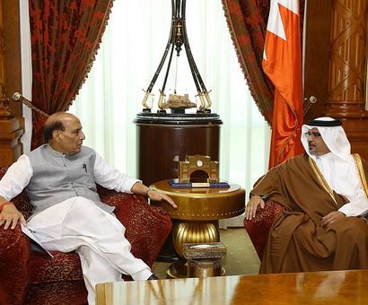 In Bahrain, Rajnath paints a grim portrait of Pakistan