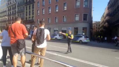 13 killed as van ploughs into crowd in Barcelona 'terror attack'