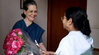 Amidst bonhomie with Sonia Gandhi, Mamata asks TMC leaders to go easy on Congress