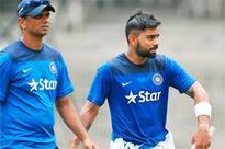 Virat Kohli shouldn't curb his aggro: Rahul Dravid