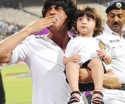 Pix: Shah Rukh's son AbRam turns 2