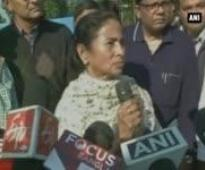 Mamata Banerjee visits relief camps in WB, distributes warm clothes to Adivasis from violence hit Ko
