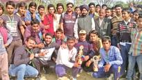 Manjit asks youth to shun drug, participate in sports