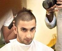 After Shahid Kapoor, Ranveer Singh shaves his head for 'Bajirao Mastani' (view pics)