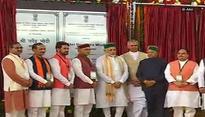 PM Narendra Modi lays foundation stone of AIIMS at Bilaspur