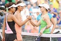 Sania and Cara lose BNP Paribas final