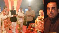 I suspect Rahul Gandhi is Christian, has church inside 10 Janpath: Subramanian Swamy