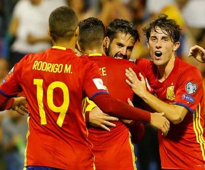 World Cup qualifiers: Spain clinch spot with slick win