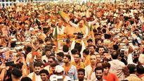 Amit Shah flags off yatra, slams Congress