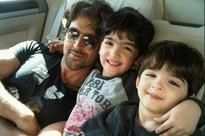 Hrithik Roshan spends time with his sons