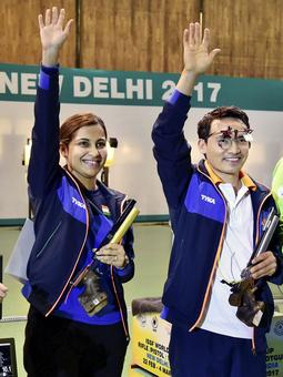 Shooting World Cup: Mittal bags silver; Jitu-Heena triumph in mixed event