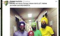 Cricket Australia apologises for tweeting 'racial' image on Panesar