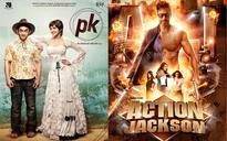 Aamir Khan-Anushka Sharma's PK is bumper at multiplexes, Ajay Devgn-Sonakshi Sinha's ACTION JACKSON fails!