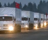 Ukraine Accuses Russia of Invasion After Aid Convoy Crosses Border