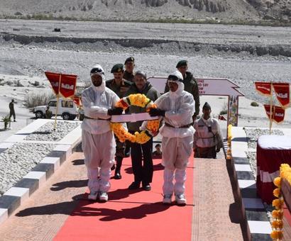 PHOTOS: Parrikar meets troops at Siachen base camp