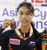 Deborah Wins Gold in First Day of Track Asia Cup