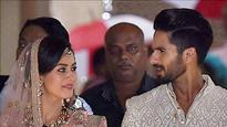 Catch the First Glimpse of the Newlyweds Shahid Kapoor and Mira Rajput