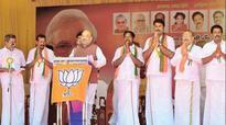 Vote for development, not  corruption, says Amit Shah
