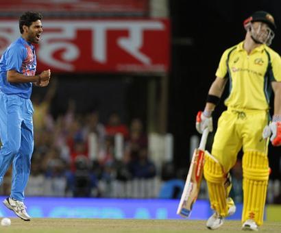 PHOTOS: Dominant India crush Australia in rain-hit T20 match