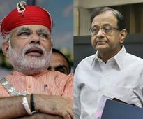 Chidambaram did 'encounter' of economy, now scared to contest: Modi