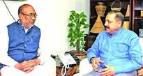 CM of Manipur calls on Dr Jitendra