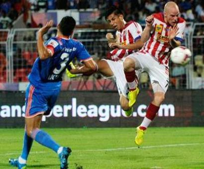 ISL: FC Goa rally to hold Atletico de Kolkata