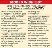 PM sets governance day tasks